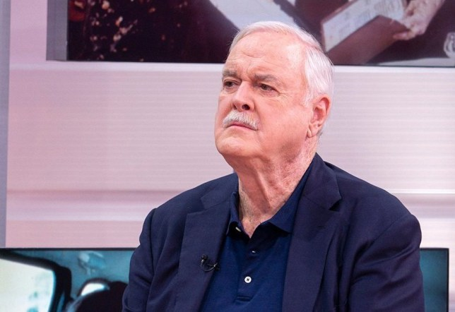 Actor and comedian John Cleese