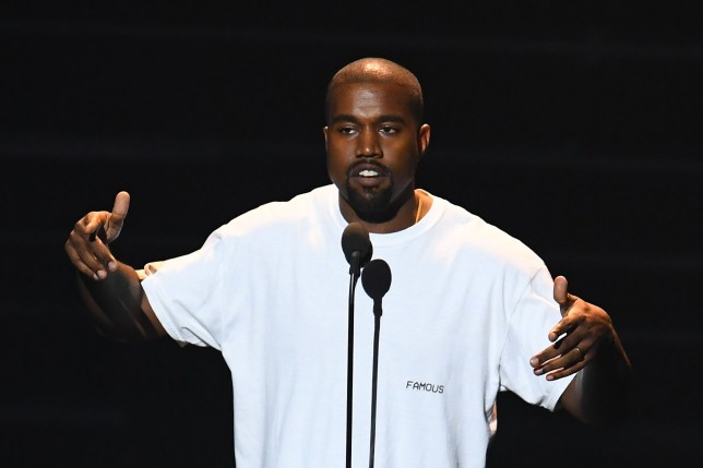 "(FILES) In this file photo taken on August 28, 2016, musician Kanye West performs on stage during the 2016 MTV Video Music Awards at Madison Square Garden in New York. - Kanye West has decided that he now wants to be called Ye. But on political matters, nothing has changed for the pro-Donald Trump rapper. ""The being formally (sic) known as Kanye West. I am Ye,"" he wrote on Twitter. Ye has long been a nickname for West, along with Yeezy, and he chose ""Ye"" as the title of his last album. He has previously said that he found a spiritual significance to ""Ye"" -- the plural or formal version of the second-person pronoun in Middle English -- as he so frequently read it in the Bible. West -- or, rather, Ye -- announced the name change shortly before he appeared on ""Saturday Night Live,"" the widely watched television skit show. (Photo by Jewel SAMAD / AFP)JEWEL SAMAD/AFP/Getty Images"