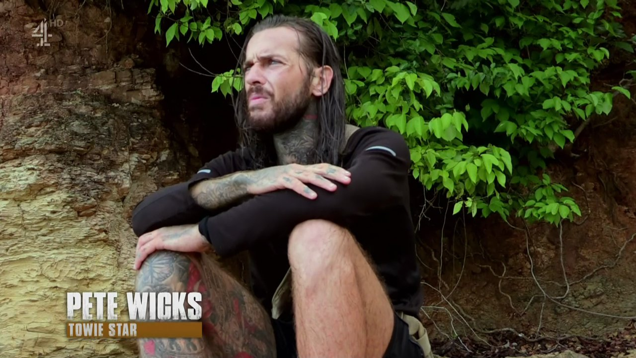 Pete is devastated after the pig strangles itself from being tied up on 'Celebrity Island with Bear Grylls'. Broadcast on Channel 4 Featuring: Pete Wicks When: 30 Sep 2018 Credit: Supplied by WENN **WENN does not claim any ownership including but not limited to Copyright, License in attached material. Fees charged by WENN are for WENN's services only, do not, nor are they intended to, convey to the user any ownership of Copyright, License in material. By publishing this material you expressly agree to indemnify, to hold WENN, its directors, shareholders, employees harmless from any loss, claims, damages, demands, expenses (including legal fees), any causes of action, allegation against WENN arising out of, connected in any way with publication of the material.**