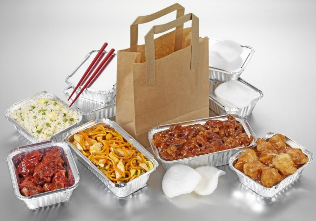 CHINESE FOOD TAKEAWAY SELECTION; Shutterstock ID 610027490; Purchase Order: -