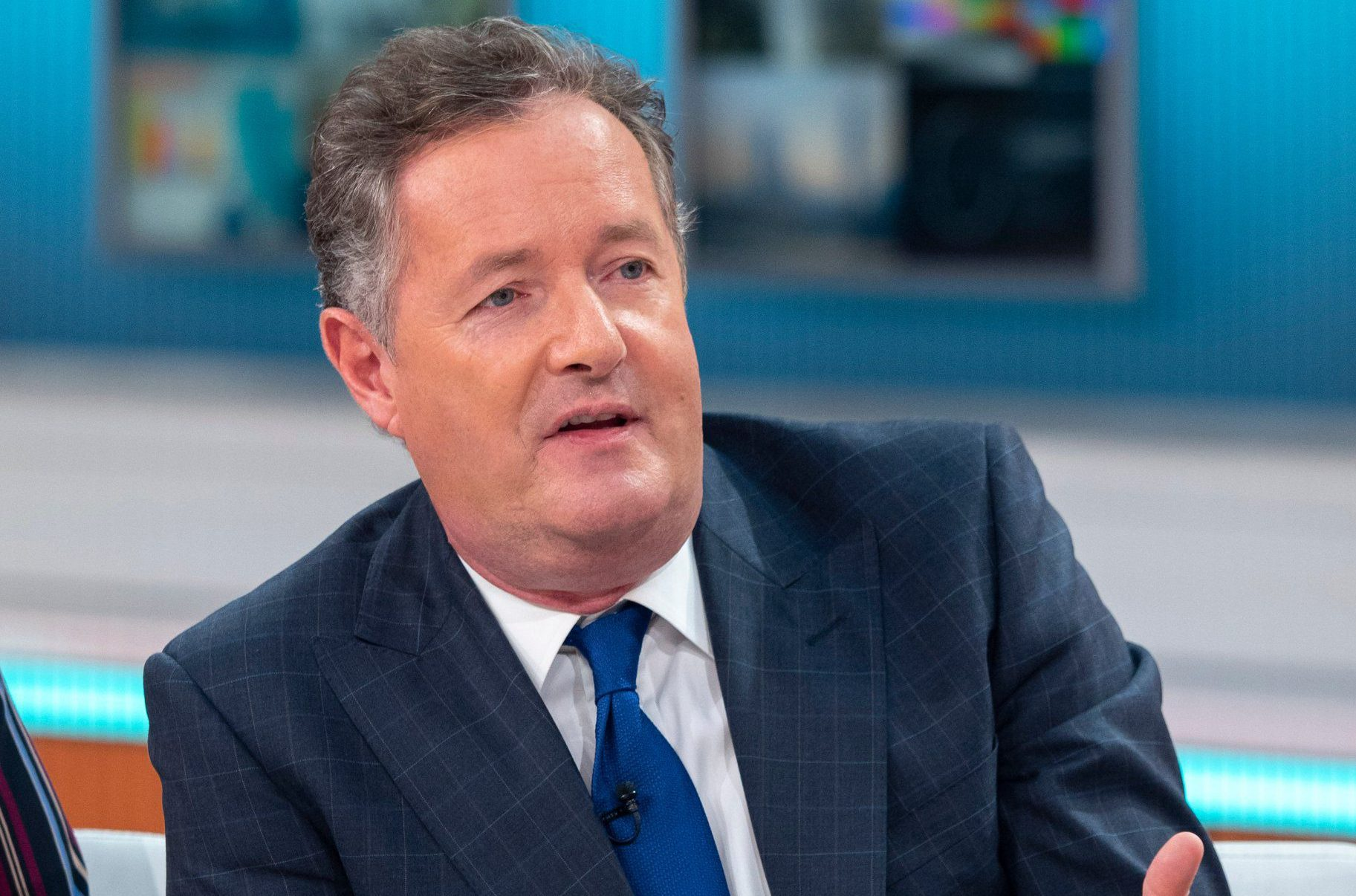 Piers Morgan presenting Good Morning Britain