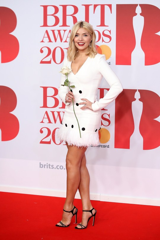 fcfae2e9803 Holly Willoughby reveals she loves breaking her new heels in during ...