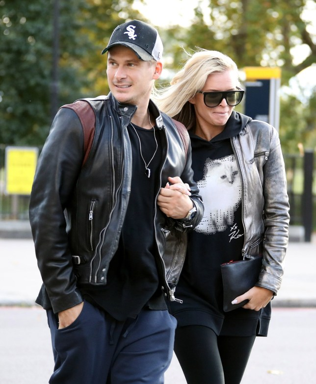 BGUK_1357022 - London, UNITED KINGDOM - Former Blue singer Lee Ryan and his Strictly Come Dancing partner Nadiya Bychkova take a break from their training out and about in Hyde Park Pictured: Lee Ryan and Nadyia Bychkova BACKGRID UK 2 OCTOBER 2018 UK: +44 208 344 2007 / uksales@backgrid.com USA: +1 310 798 9111 / usasales@backgrid.com *UK Clients - Pictures Containing Children Please Pixelate Face Prior To Publication*