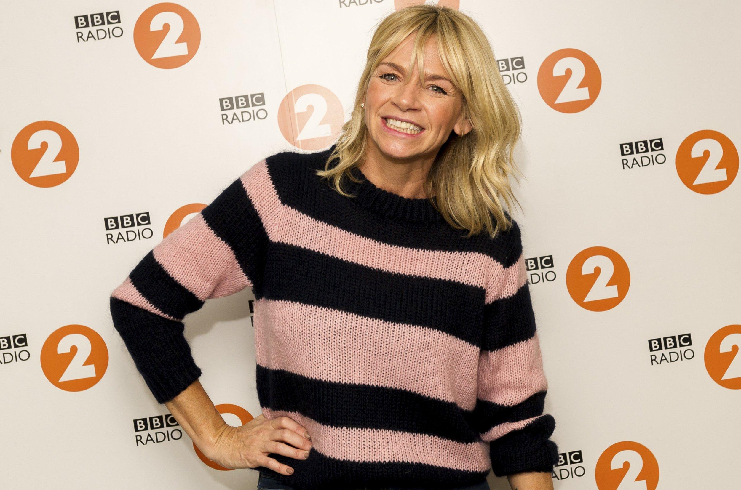 Zoe Ball having 'anxiety dreams' ahead of first day on BBC Radio 2