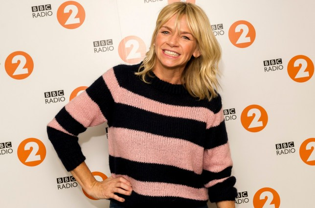 For use in UK, Ireland or Benelux countries only BBC handout photo of radio presenter Zoe Ball who has been announced as the next host of the Radio 2 Breakfast Show, replacing current host Chris Evans when he leaves later this year. PRESS ASSOCIATION Photo. Issue date: Monday February 19, 2018. See PA story SHOWBIZ Breakfast. Photo credit should read: Sarah Jeynes/BBC/BBC/PA Wire NOTE TO EDITORS: Not for use more than 21 days after issue. You may use this picture without charge only for the purpose of publicising or reporting on current BBC programming, personnel or other BBC output or activity within 21 days of issue. Any use after that time MUST be cleared through BBC Picture Publicity. Please credit the image to the BBC and any named photographer or independent programme maker, as described in the caption.