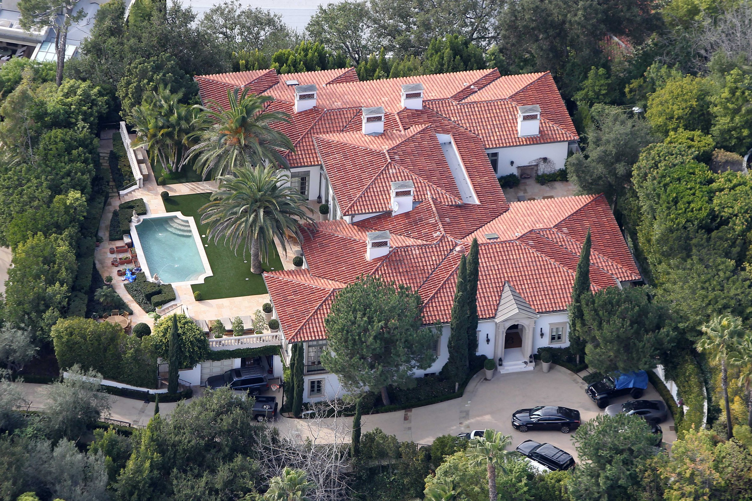 David and Victoria Beckham have quietly sold their longtime Beverly Hills mansion for $33.1m. The former England great and his Spice Girl wife sold the six bedroom and nine bathroom Italian villa-style mansion in an off-market deal, according to the L.A Times. The 13,000 square-ft home was built in 2007 and sits behind iron gates at the end of a private driveway. The ?H? shaped home comes with formal living and dining rooms, a lift, a library and a media and music room. David, 43, and Victoria, 44, bought the home in 2007 shortly after he signed a five-year deal to play for the Los Angeles Galaxy, where he won the 2011 and 2012 Major League Soccer titles. Pictured: Ref: SPL5030588 041018 NON-EXCLUSIVE Picture by: NML / SplashNews.com Splash News and Pictures Los Angeles: 310-821-2666 New York: 212-619-2666 London: 0207 644 7656 Milan: +39 02 4399 8577 Sydney: +61 02 9240 7700 photodesk@splashnews.com World Rights,