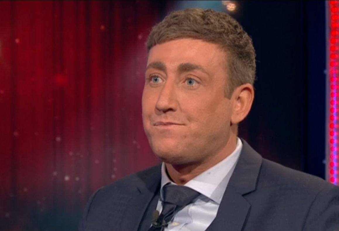 Editorial use only Mandatory Credit: Photo by REX/Shutterstock (5569392k) Christopher Maloney is evicted 'Celebrity Big Brother' TV show, Elstree Studios, Hertfordshire, Britain - 26 Jan 2016
