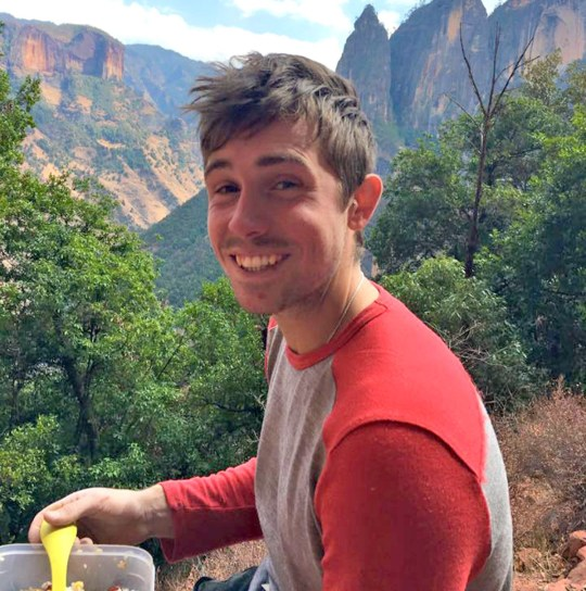 Liam Postlethwaite a climbing expert who stabbed himself to death following a severe bout of mental illness which his family claim was triggered when he smoked cannabis during a trip to Amsterdam.Disclaimer: While Cavendish Press (Manchester) Ltd uses its' best endeavours to establish the copyright and authenticity of all pictures supplied, it accepts no liability for any damage, loss or legal action caused by the use of images supplied. The publication of images is solely at your discretion.For terms and conditions see http://www.cavendish-press.co.uk/pages/terms-and-conditions.aspx