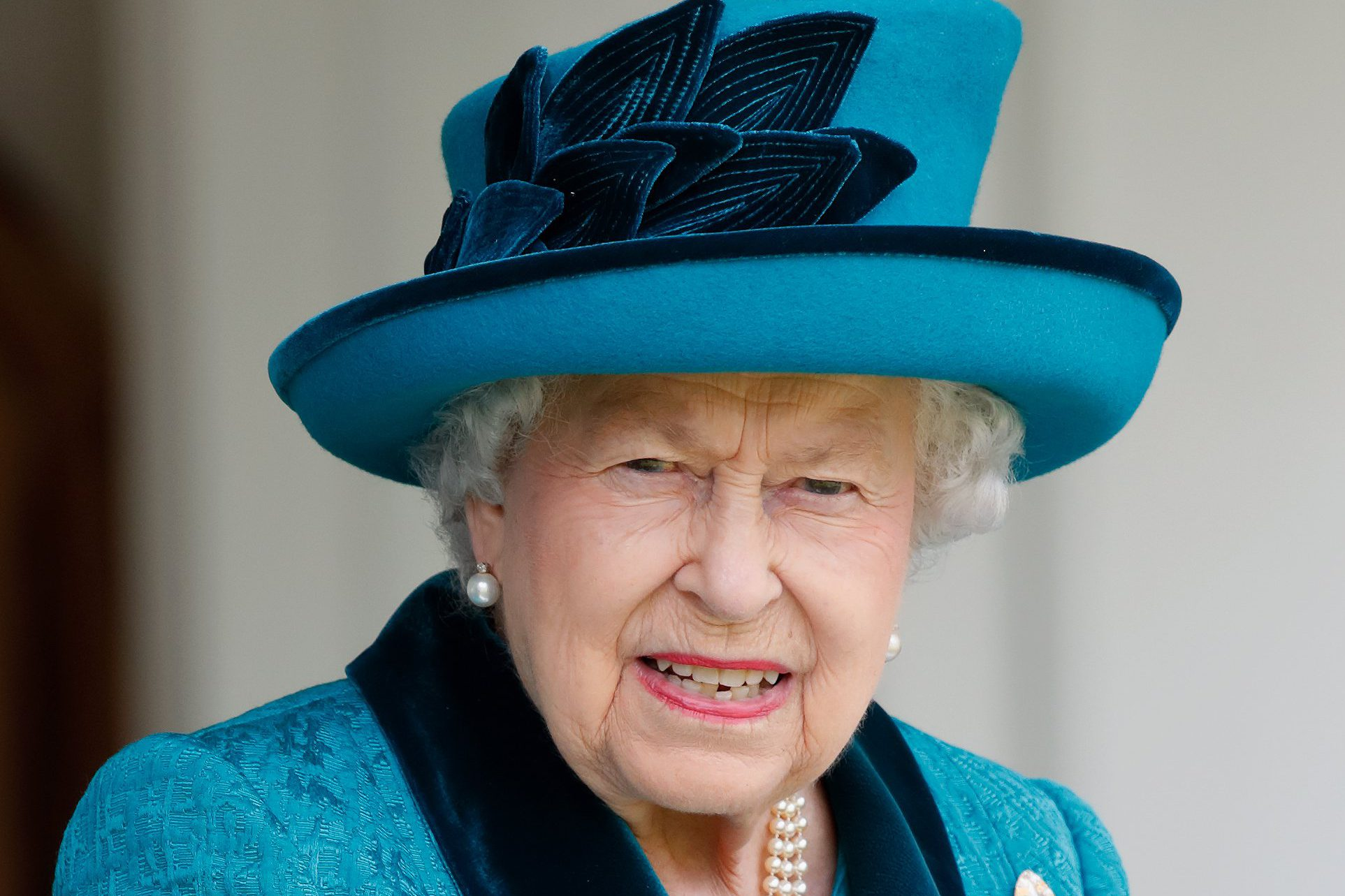 BRAEMAR, UNITED KINGDOM - SEPTEMBER 01: (EMBARGOED FOR PUBLICATION IN UK NEWSPAPERS UNTIL 24 HOURS AFTER CREATE DATE AND TIME) Queen Elizabeth II attends the 2018 Braemar Highland Gathering at The Princess Royal and Duke of Fife Memorial Park on September 1, 2018 in Braemar, Scotland. (Photo by Max Mumby/Indigo/Getty Images)