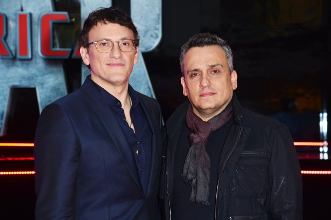 Mandatory Credit: Photo by Joanne Davidson/REX/Shutterstock (7530255dj) 'Captain America Civil War' European Premiere at Westfield Shepherds Bush Directors Anthony Russo with His Brother Joe Russo 'Captain America Civil War' - 26 Apr 2016