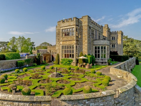 A castle that comes with a lordship title is on the market for £1.2 million