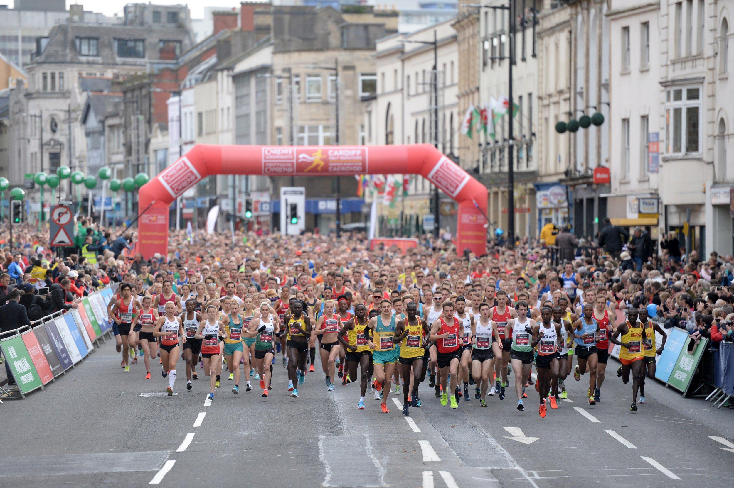 07.10.18 - Cardiff University Cardiff Half Marathon -