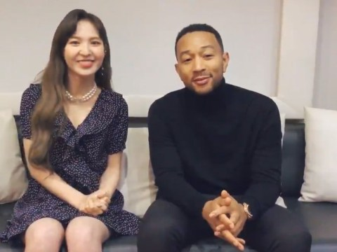 John Legend teams up with Red Velvet's Wendy for first K-Pop collaboration
