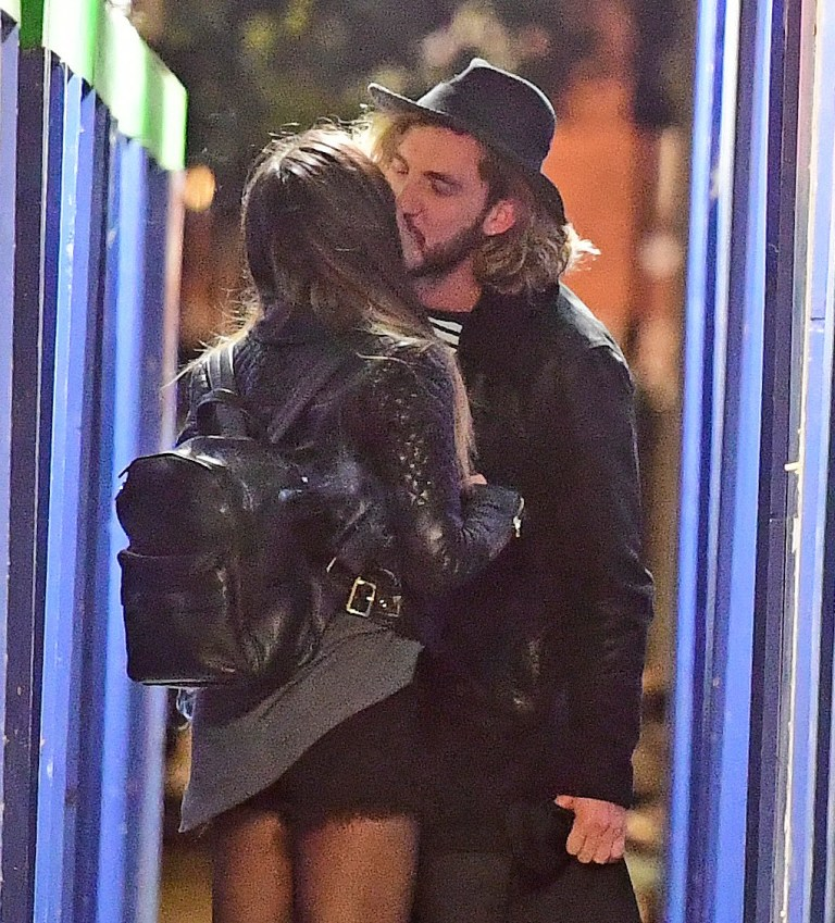 EXCLUSIVE ALL ROUND ??1000 THE SET. STRICTLY NO WEB USAGE UNTIL 10.45PM 18/10/18 - WEB EMBARGO APPLIES SEANN WALSH AND KATYA JONES SEEN SHARING A PASSIONATE KISS FOLLOWING A BOOZY NIGHT OUT IN LONDON FOLLOWING A TRIP TO THE DUKE OF NORTH PUB. THE PAIR WERE SEEN KISSING MULTIPLE TIMES DURING THE PASSIONATE EMBRACE ON THE BIRTHDAY NIGHT OF SEANN WALSH PARTNER REBBECCA HUMPHRIES. REBECCA HUMPHRIES WAS SEEN IN FLOODS OF HAPPY TEARS AS SHE SUPPORTED HER PARTNER SEANN AT ELSTREE STUDIOS FOR THE LIVE PERFORMANCE HOURS BEFORE THE PICTURES EMERGED OF HIM KISSING KATYA. REBECCA HAS SINCE UNFOLLOWED SEANN ON SOCIAL MEDIA FOLLOWING THE PICTURES OF HIM CHEATING ON HER.