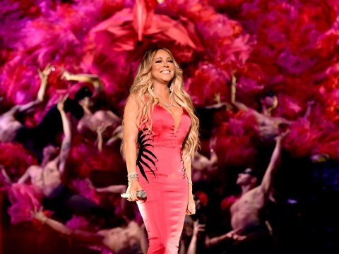 Mariah Carey fans are worried that she can't actually move as she stands still for her whole American Music Awards performance