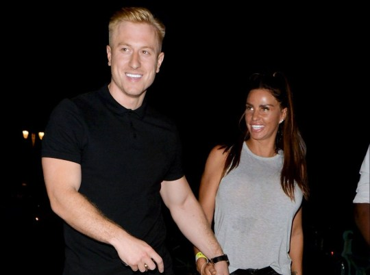 Mandatory Credit: Photo by Palace Lee/REX/Shutterstock (9745035d) Kris Boyson and Katie Price Katie Price and Kris Boyson out and about, Brighton, UK - 07 Jul 2018 Katie Price and Kris Boyson at Shoosh night club