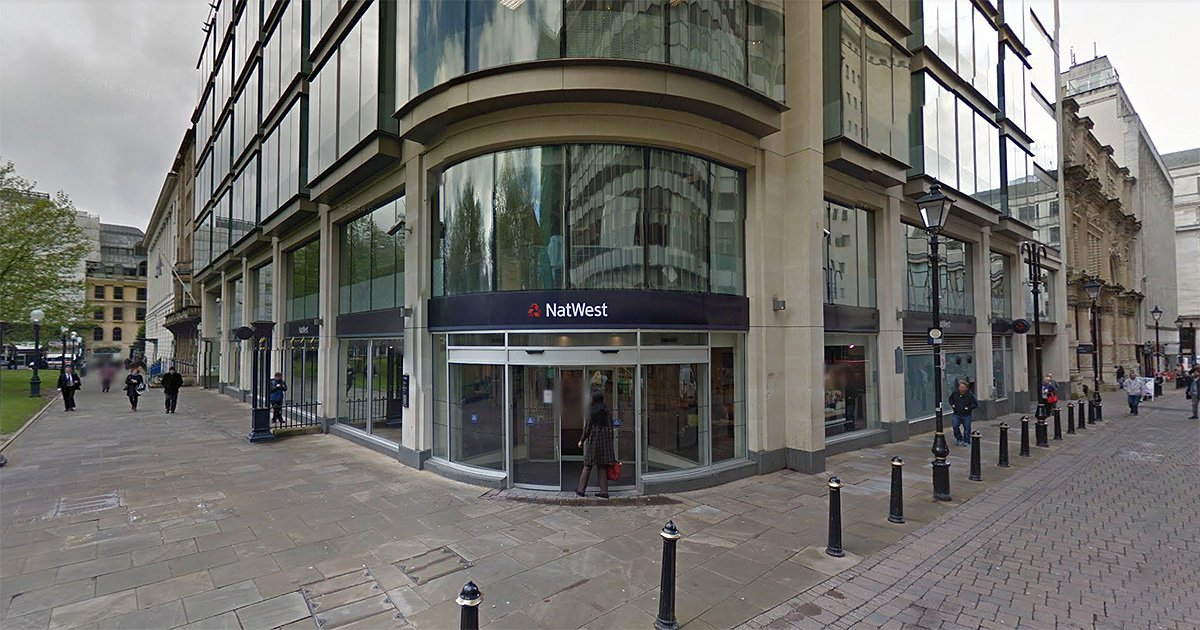 Armed police swoop on bank but turns out employees were just playing hide and seek picture: Google Maps METROGRAB