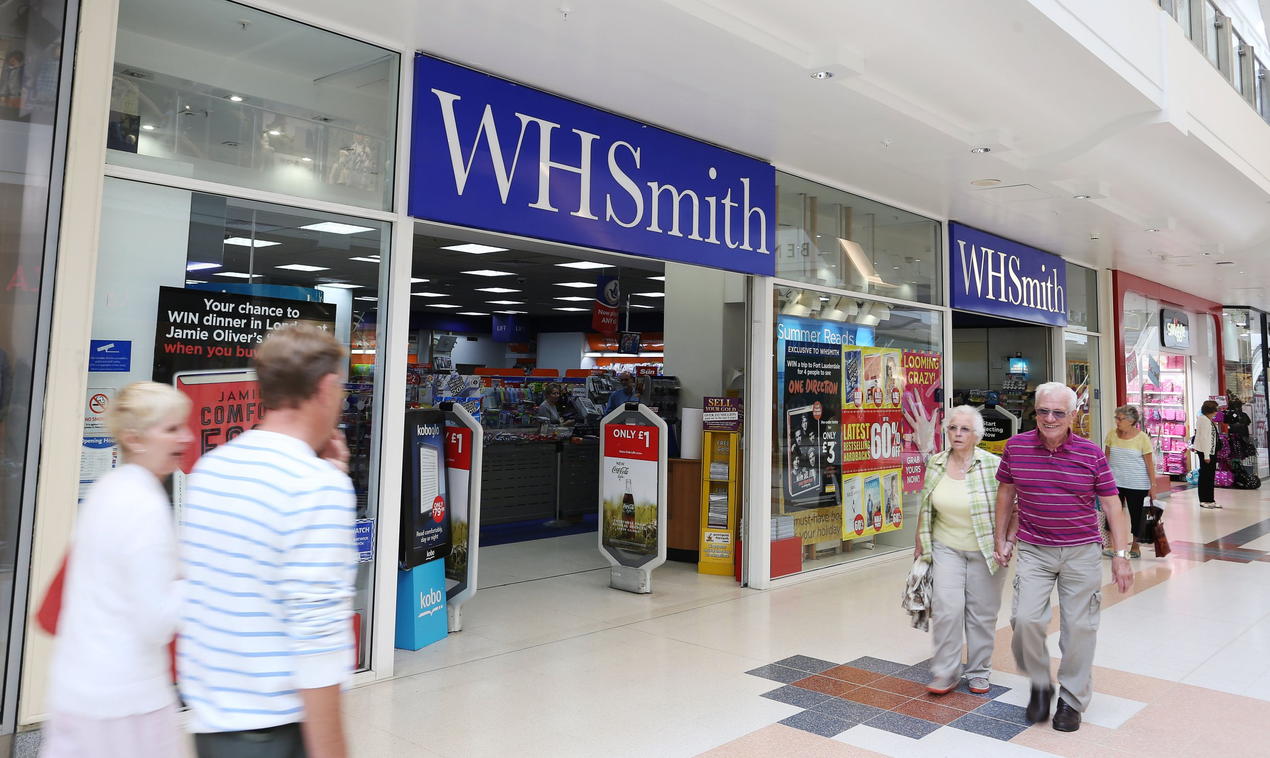 Mandatory Credit: Photo by Joe Pepler/REX/Shutterstock (4104700d) Exterior of a WH Smith Store Various Retail Stores - Britain - 12 Sep 2014