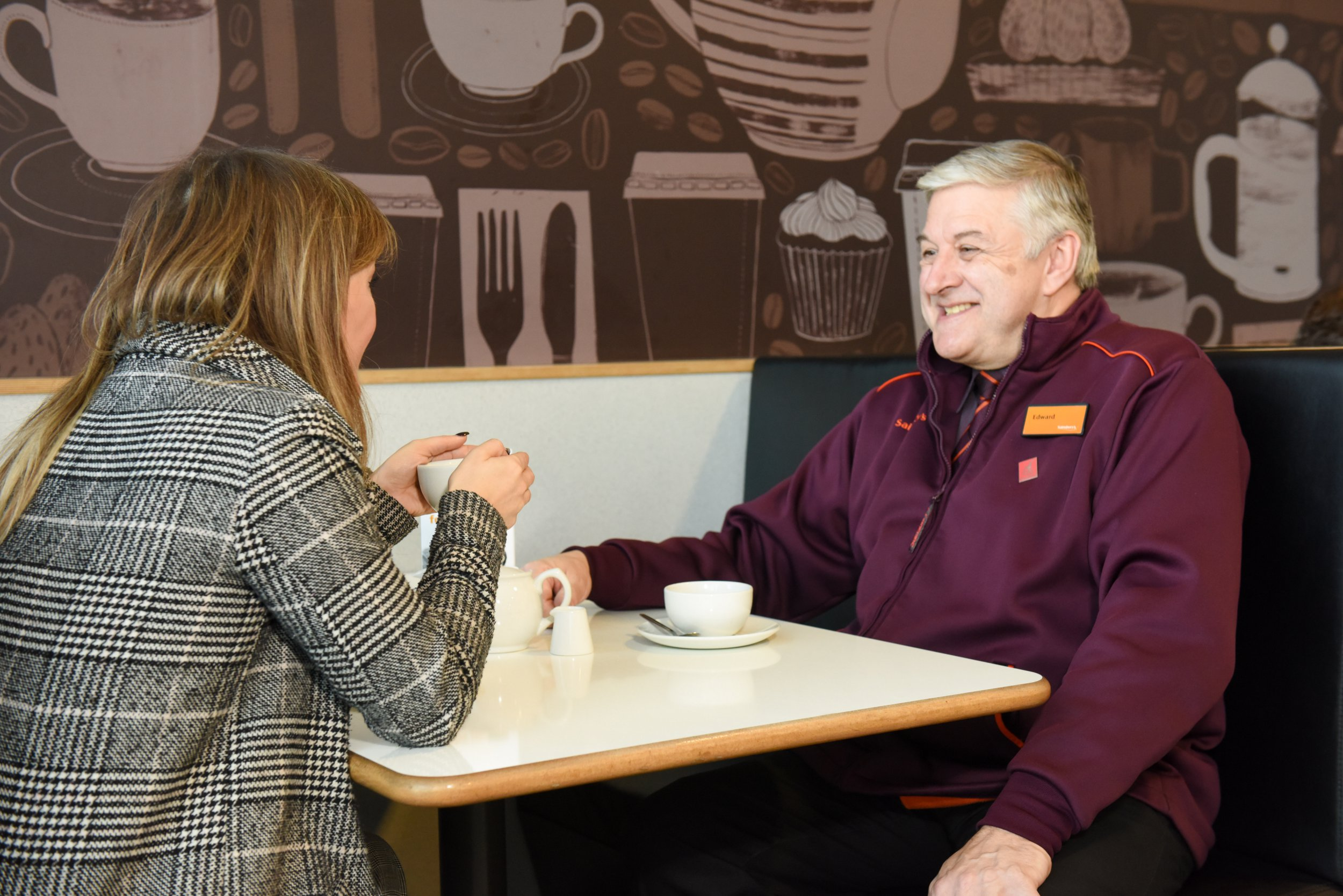 Sainsbury's is testing out talking tables to combat loneliness