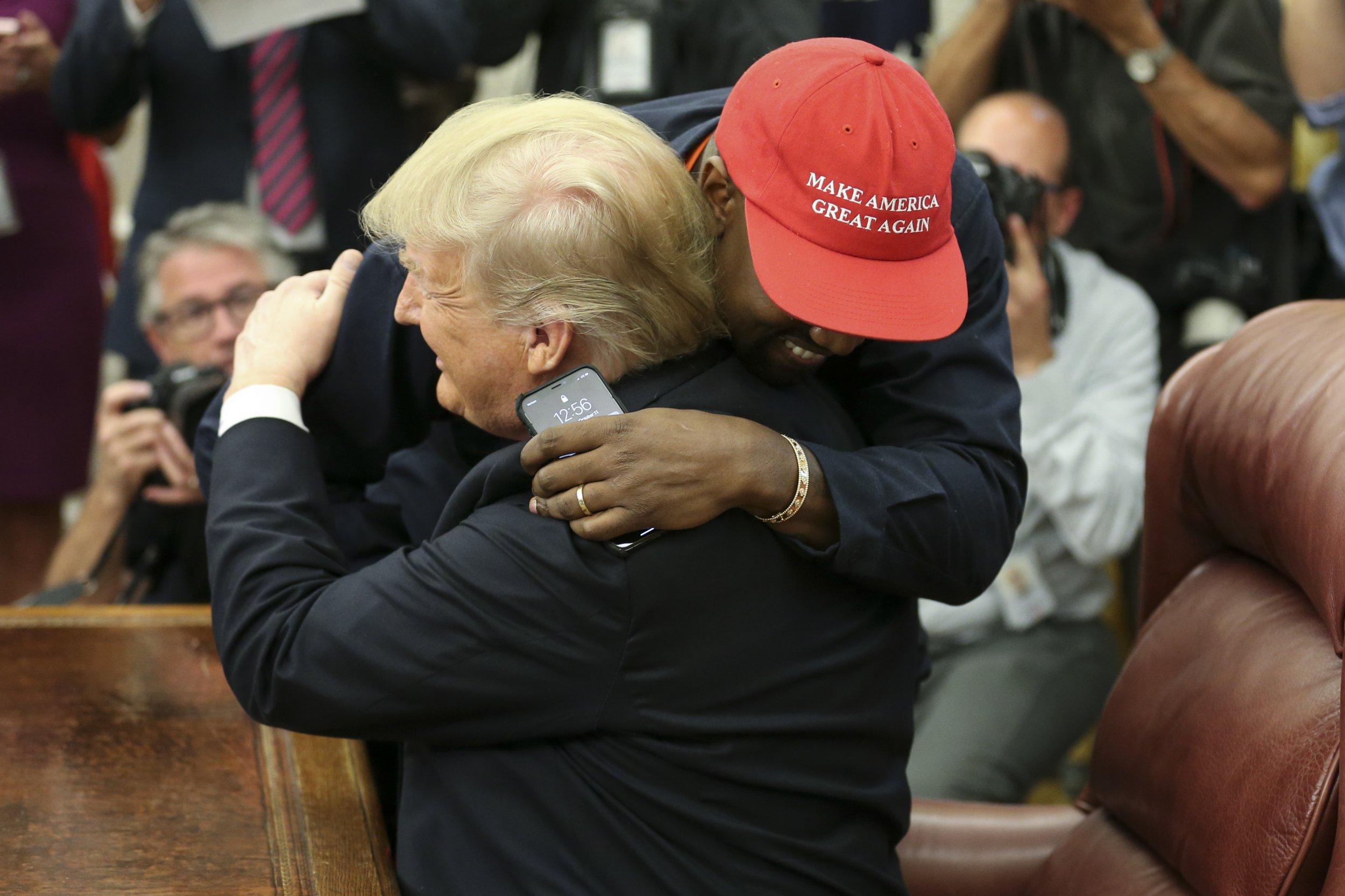 Kanye West's White House meeting with President Donald Trump was 'a toe-curling mark of respect'