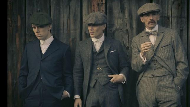 **Spoilers** Cillian Murphy Returns As Thomas Shelby On The Set of Peaky Blinders Series 5.