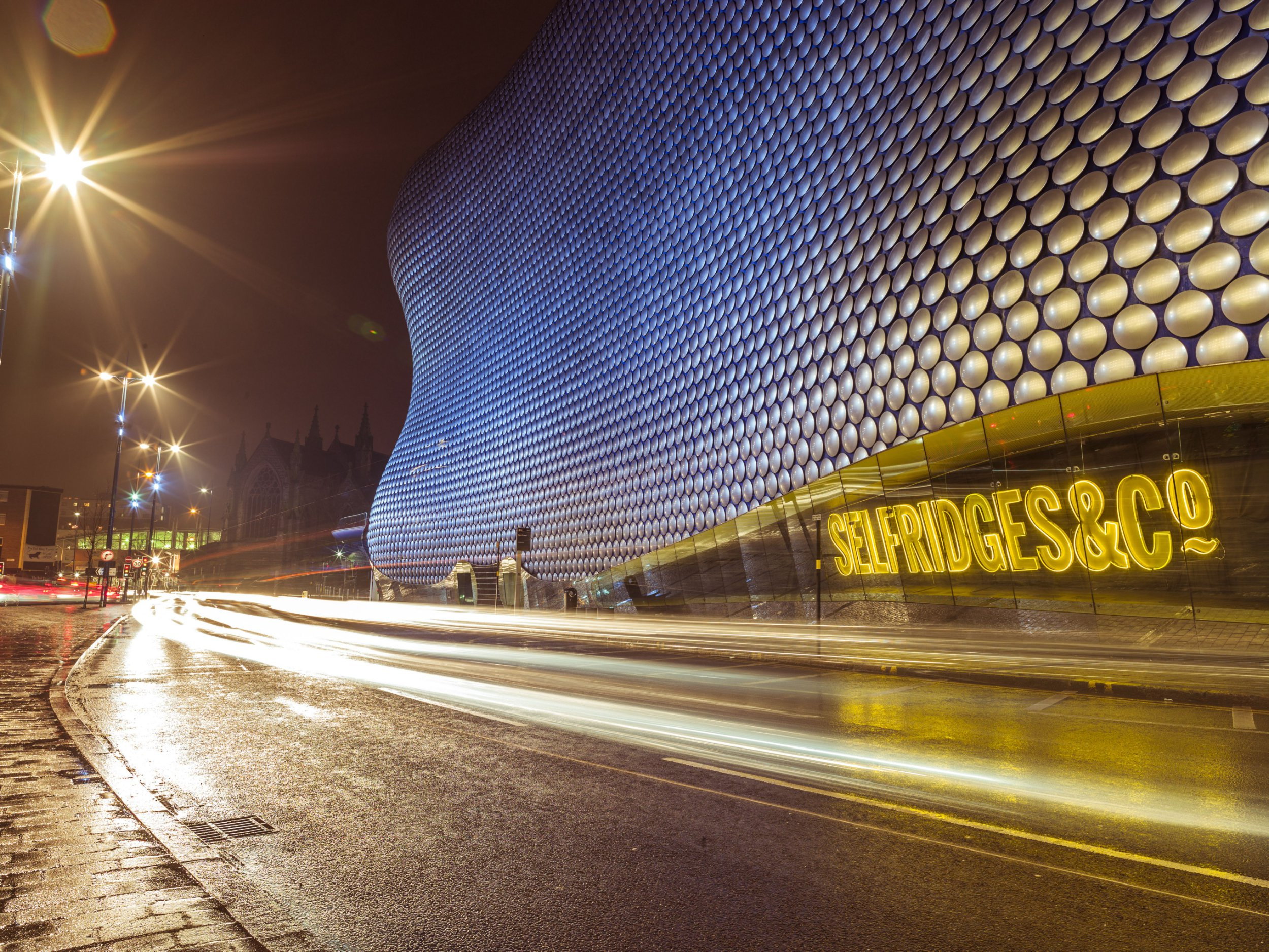 EDITORIAL USE ONLY : CONSENT REQUIRED FOR COMMERCIAL USE Mandatory Credit: Photo by Best Shot Factory/REX/Shutterstock (5570605a) Famous Selfridges shopping mall in Bullring, Birmingham, UK VARIOUS