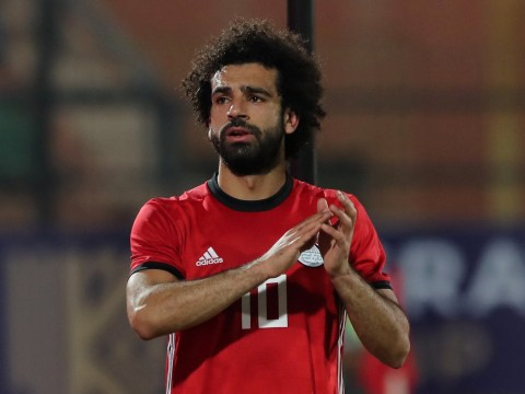 Liverpool star Mohamed Salah suffers injury scare on international duty