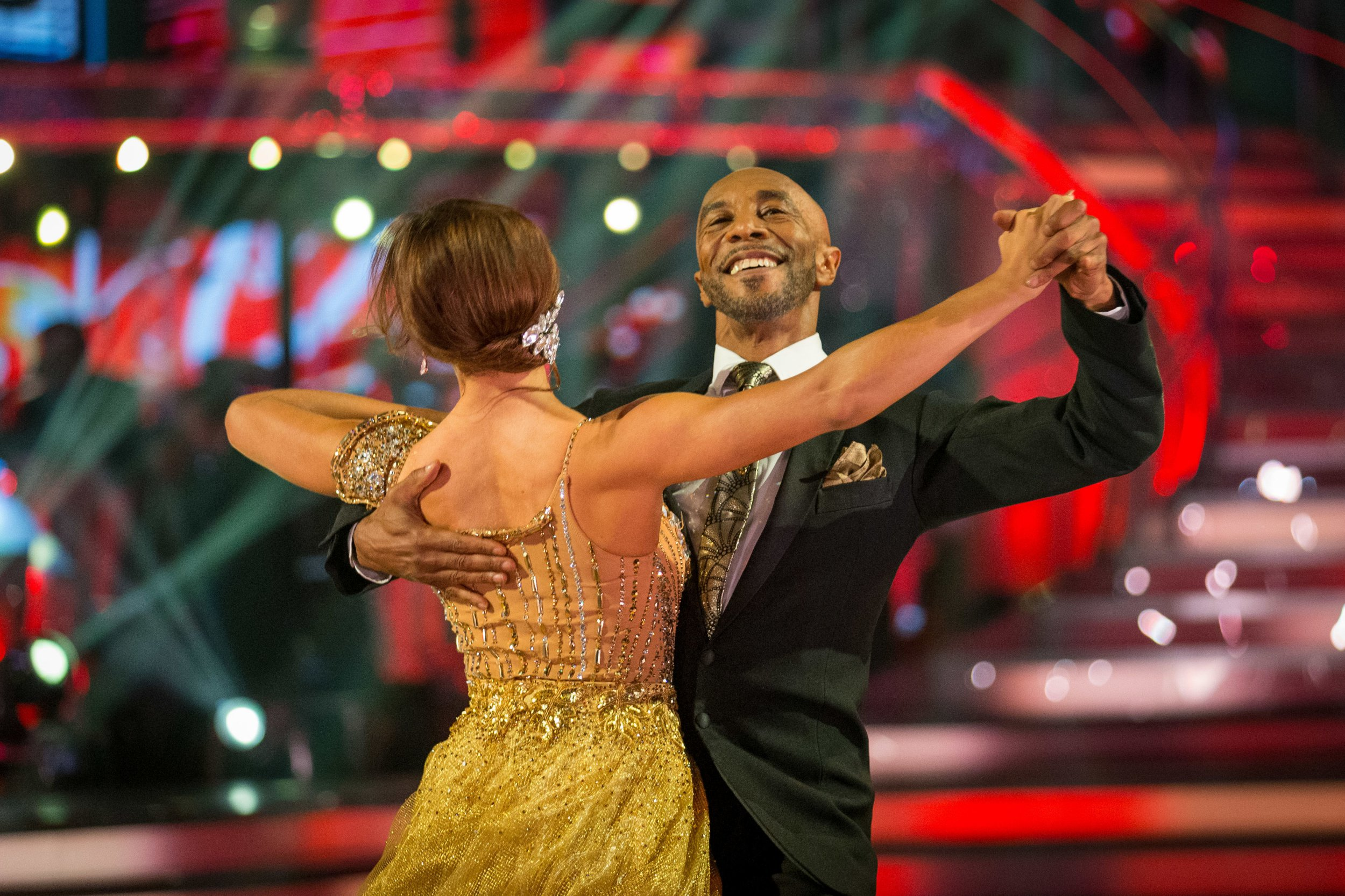 For use in UK, Ireland or Benelux countries only Undated BBC handout photo of Amy Dowden and Danny John-Jules. PRESS ASSOCIATION Photo. Issue date: Saturday October 13, 2018. See PA story SHOWBIZ Strictly. Photo credit should read: Guy Levy/BBC/PA Wire NOTE TO EDITORS: Not for use more than 21 days after issue. You may use this picture without charge only for the purpose of publicising or reporting on current BBC programming, personnel or other BBC output or activity within 21 days of issue. Any use after that time MUST be cleared through BBC Picture Publicity. Please credit the image to the BBC and any named photographer or independent programme maker, as described in th