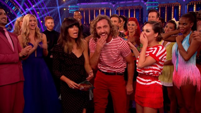 Seann Walsh and Katya Jones - Strictly Come Dancing. 13.10.2018 (Picture: BBC)