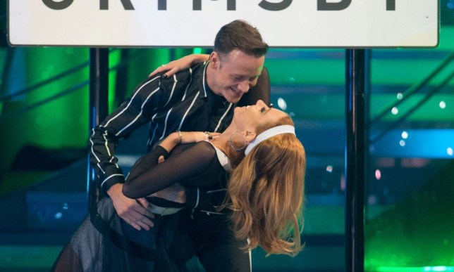 For use in UK, Ireland or Benelux countries only Undated BBC handout photo of Kevin Clifton and Stacey Dooley. PRESS ASSOCIATION Photo. Issue date: Saturday October 13, 2018. See PA story SHOWBIZ Strictly. Photo credit should read: Guy Levy/BBC/PA Wire NOTE TO EDITORS: Not for use more than 21 days after issue. You may use this picture without charge only for the purpose of publicising or reporting on current BBC programming, personnel or other BBC output or activity within 21 days of issue. Any use after that time MUST be cleared through BBC Picture Publicity. Please credit the image to the BBC and any named photographer or independent programme maker, as described in th