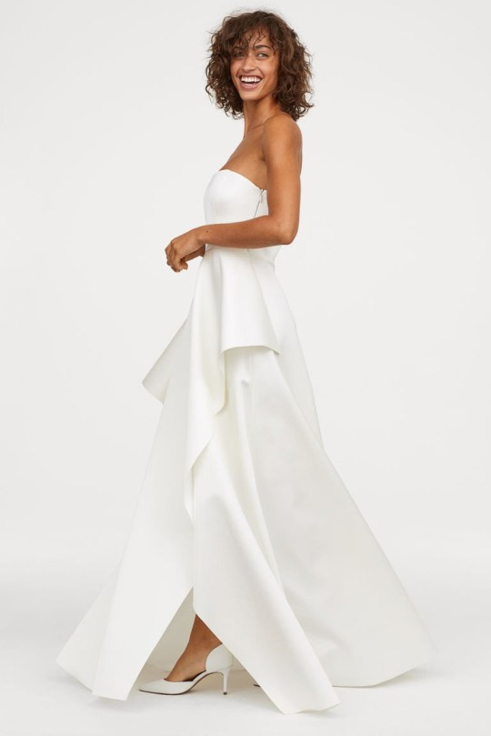 H M Releases New Line Of Affordable Stunning Wedding Dresses