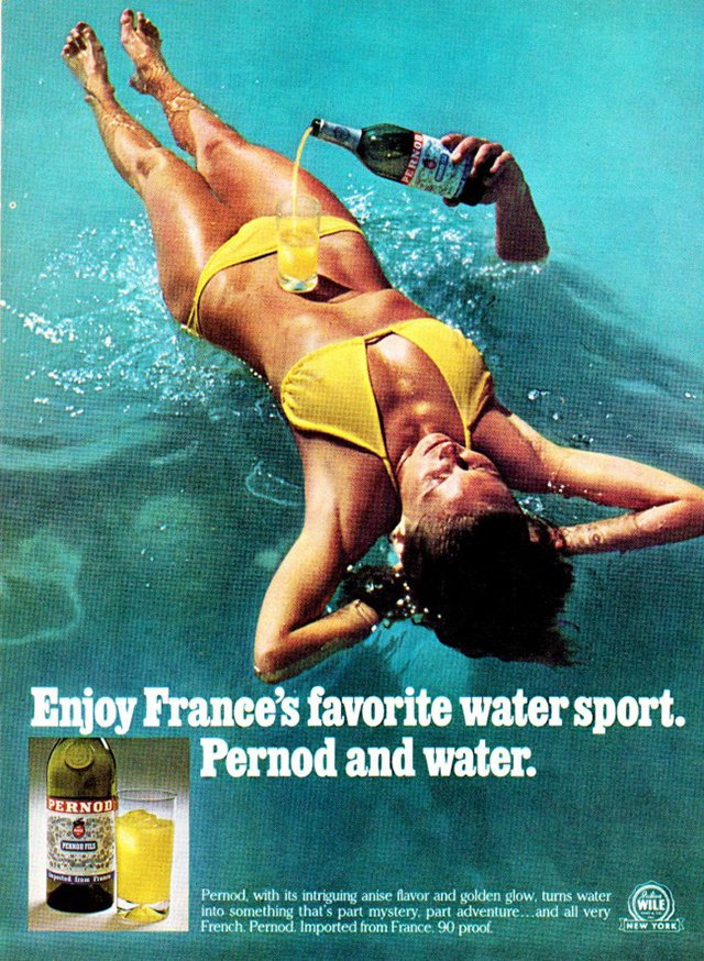 The 1970s - when sexual innuendo adverts were all the rage Picture: NO CREDIT METROGRAB web collects
