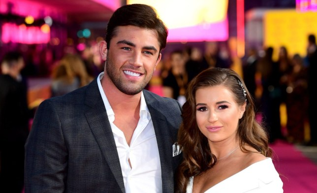 Jack Fincham and Dani Dyer attending the ITV Palooza held at the Royal Festival Hall, Southbank Centre, London. PRESS ASSOCIATION Photo. Picture date: Tuesday October 16, 2018. Photo credit should read: Ian West/PA Wire