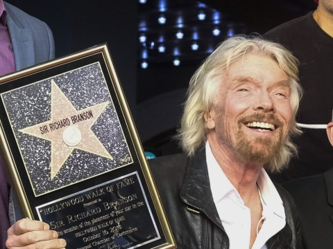 Richard Branson recalls years of 'sex drugs and rock and roll' as he gets Hollywood Walk Of Fame star