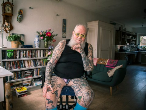 Photo series proves people don't always regret their tattoos when they get older