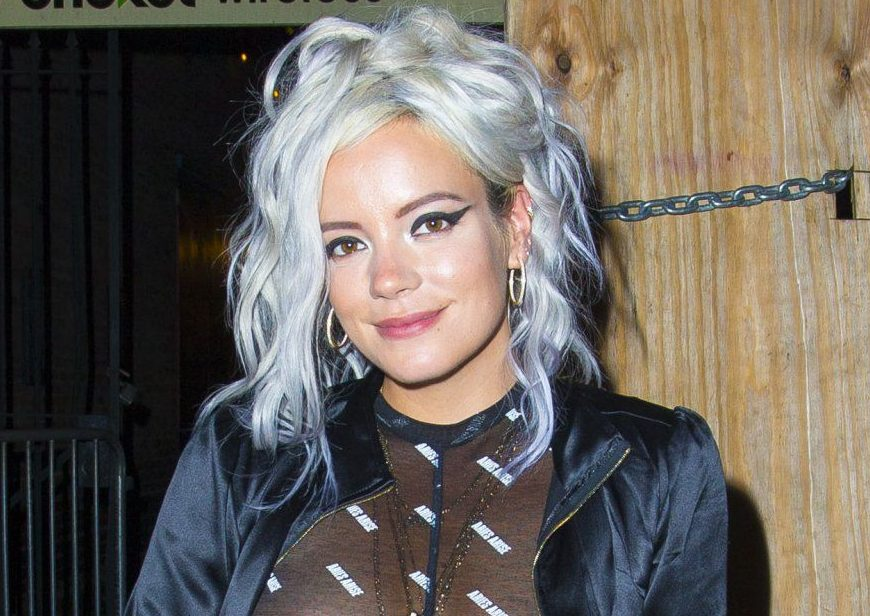 'There's nothing outrageous about breasts': Lily Allen won't be shamed for going braless under see-through top