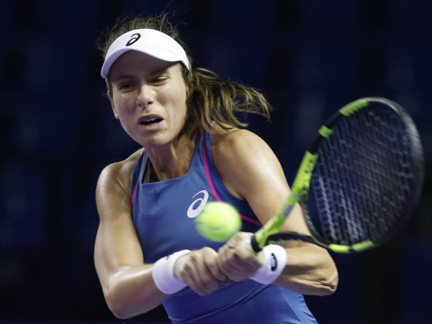 Johanna Konta advances to semi-finals in Moscow as Simona Halep pulls out of WTA Finals