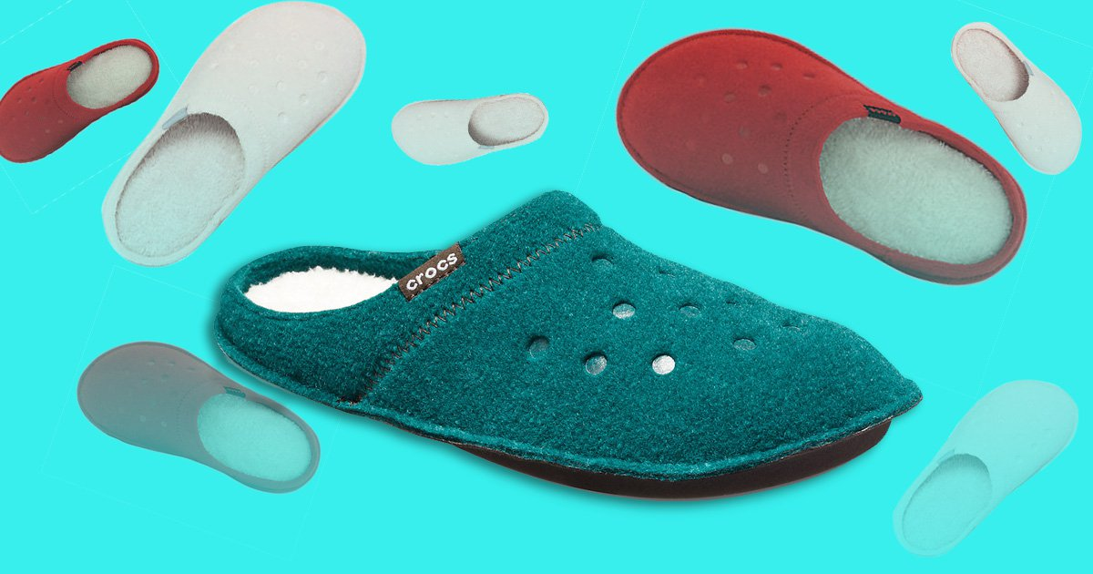 Crocs now come in horrifying SLIPPER form? and they?re even worse than the standard style