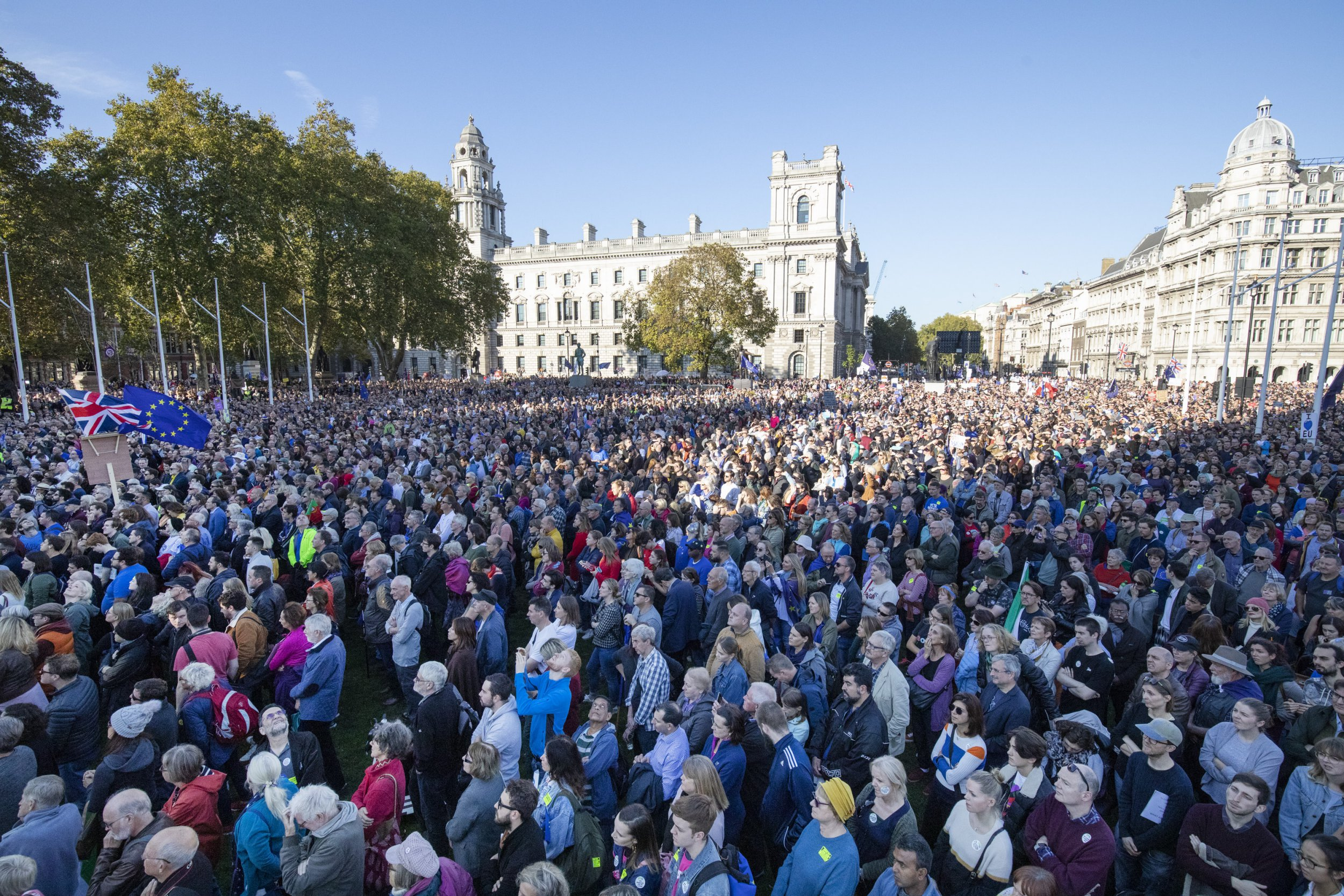 Huge anti-Brexit march to take place outside Parliament this weekend
