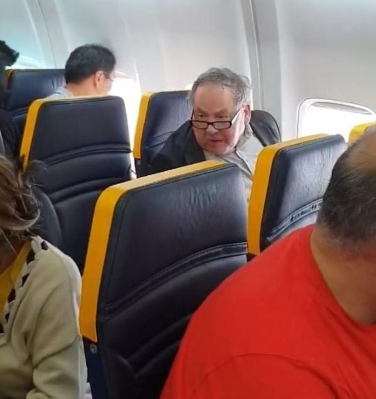 Picture: David Lawrence Ryanair passenger unleashes vile torrent of racist abuse at woman seated near him