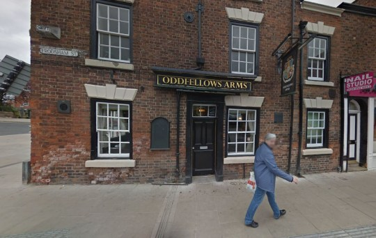 Picture: Google Maps/ Oddfellows Arms Apology to trans women