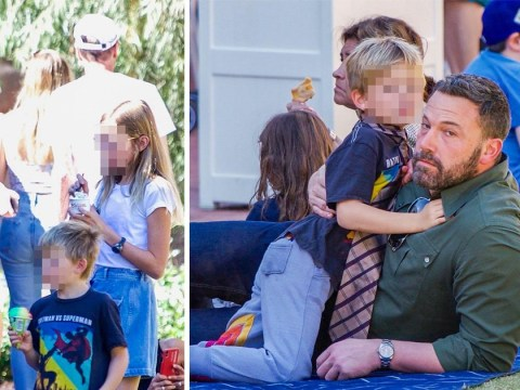 Ben Affleck spends quality time with his and Jennifer Garner's kids after vowing to 'fight for his family'