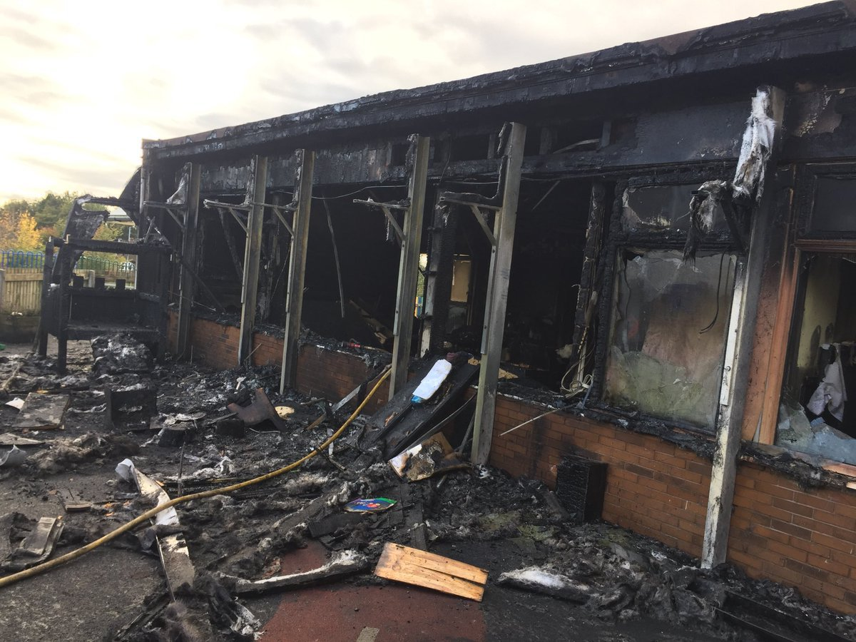 More The fire at Red Lane Community Primary School in Bolton has been extinguished. Emergency services remain on the scene.