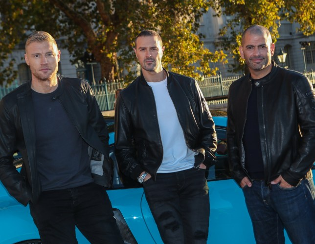 "The BBC announce Andrew ""Freddie"" Flintoff, Paddy McGuiness and Chris Harris as the new presenting team for the upcoming series of Top Gear. Featuring: Andrew ""Freddie"" Flintoff, Paddy McGuiness, Chris Harris Where: London, United Kingdom When: 22 Oct 2018 Credit: John Rainford/WENN"