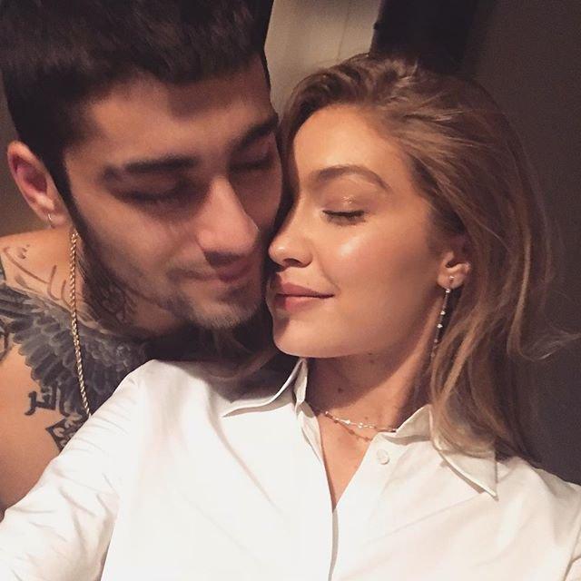 Gigi and Zayn are complete goals METRO GRAB taken from: https://www.instagram.com/p/BpNual8HTSA/?taken-by=gigihadid Credit: Gigi Hadid/Instagram