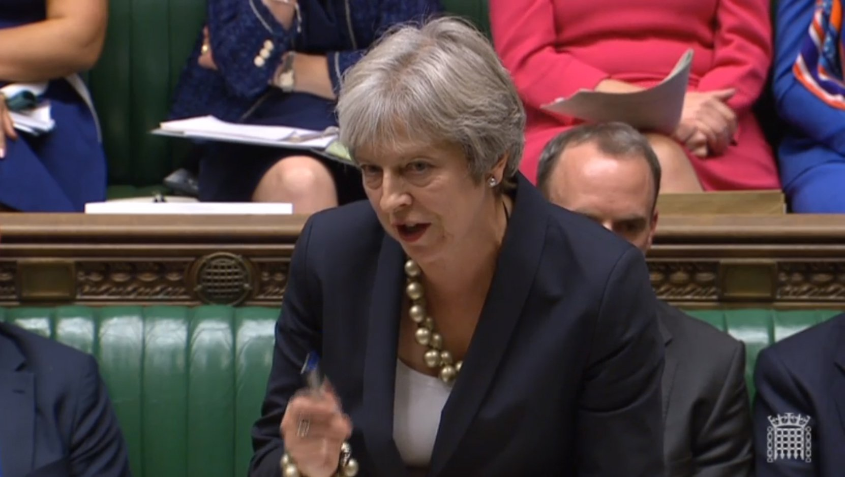 Prime Minister Theresa May making a statement in the House of Commons in London about the European Council summit. PRESS ASSOCIATION Photo. Picture date: Monday October 22, 2018. See PA story POLITICS Brexit. Photo credit should read: PA Wire