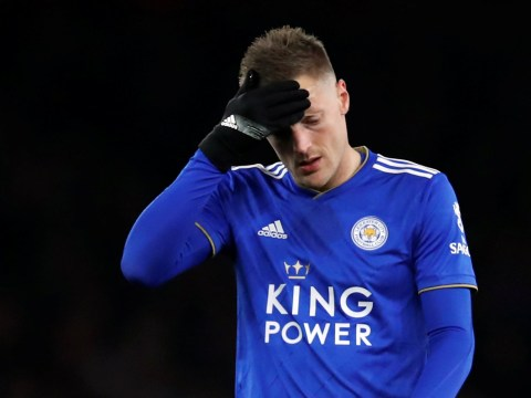 Claude Puel reveals why Jamie Vardy ran off the pitch early in Leicester's defeat to Arsenal