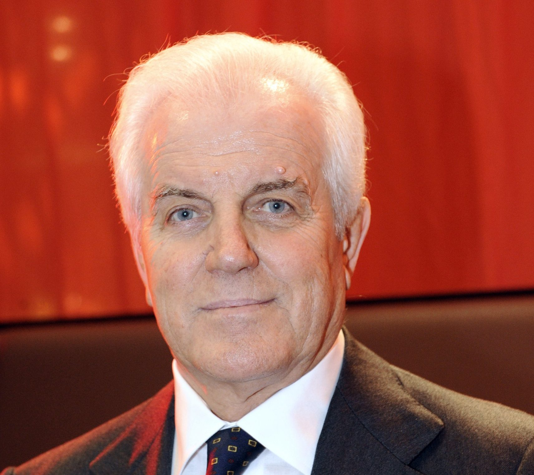 Gilberto Benetton, member of the board of directors of both Edizione srl and Benetton Group, poses on December 16, 2009 in Paris. He is also chairman of Autogrill and a director of the Benetton Group. AFP PHOTO / BERTRAND GUAY (Photo credit should read BERTRAND GUAY/AFP/Getty Images)