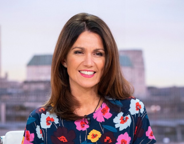 Editorial use only Mandatory Credit: Photo by Ken McKay/ITV/REX/Shutterstock (9922023ab) Susanna Reid 'Good Morning Britain' TV show, London, UK - 11 Oct 2018