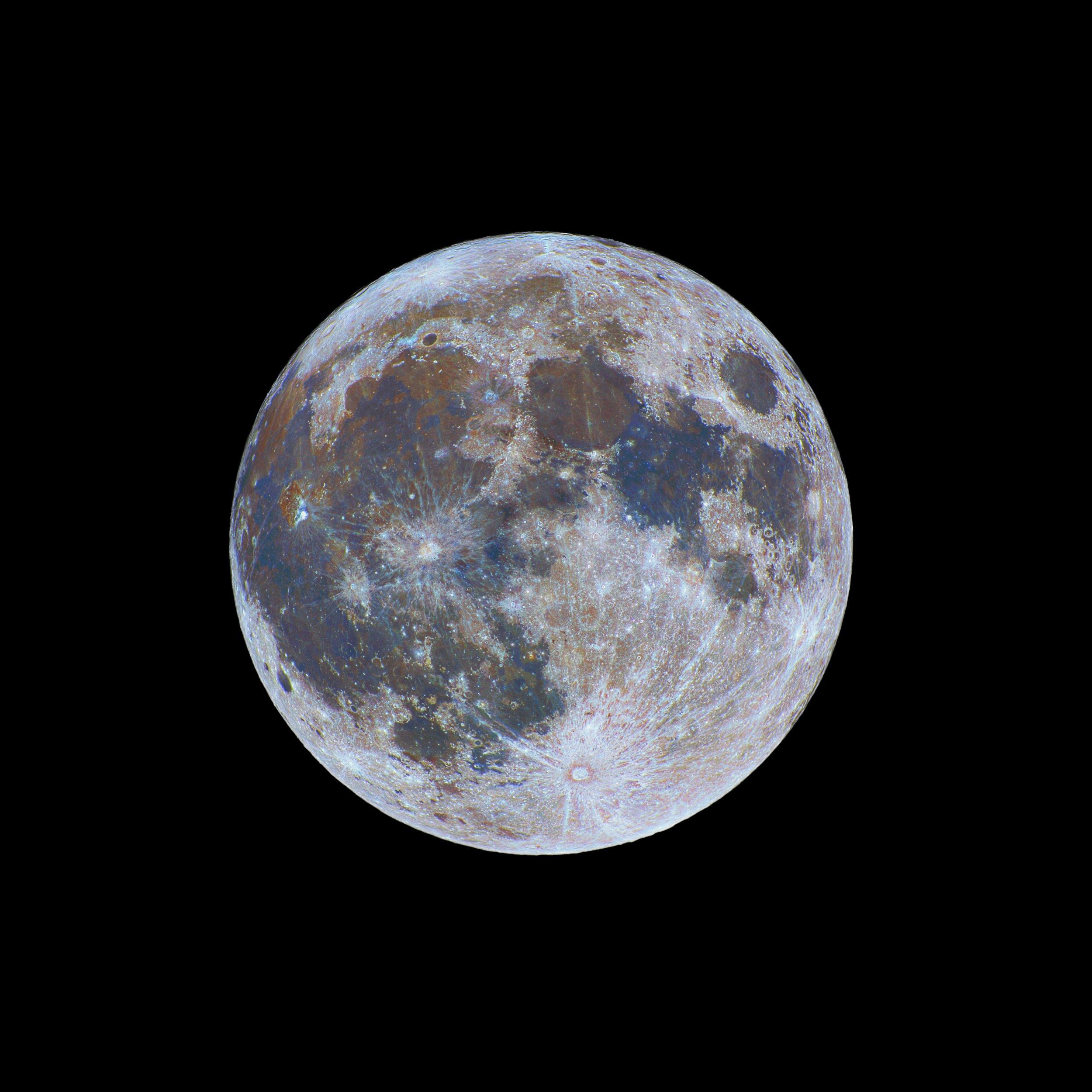 Color-Full Moon Credit: Nicolas Lefaudeux